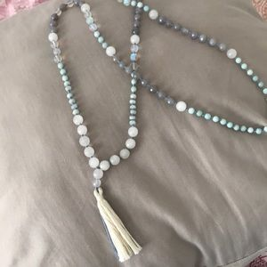Jewelry - Mala beaded necklace or wrap bracelet!